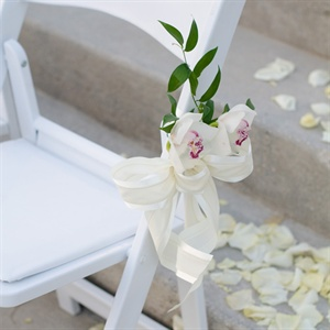 Ceremony Chair Flowers