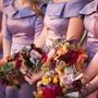 Colorful Bridesmaid Bouquets