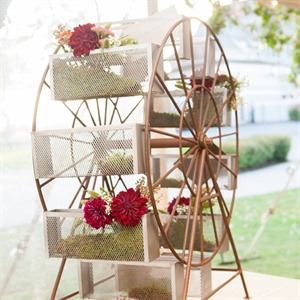 Ferris Wheel Floral Display