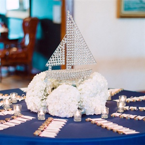Escort Card Table Decor