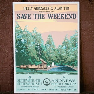 Nature-Themed Save-The-Dates