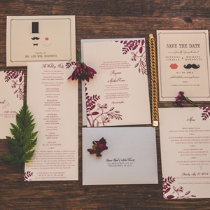 Formal Floral Invitations