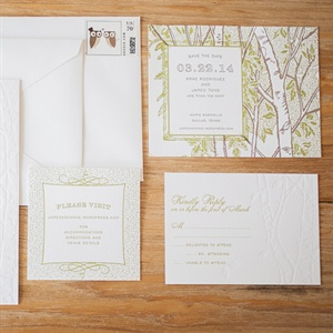 Aspen Tree Invitation Suite