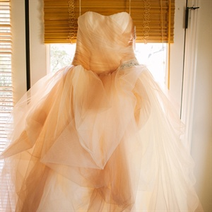 Two Toned Wedding Gown