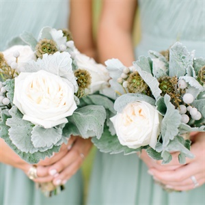 Soft Bridesmaid Bouquets