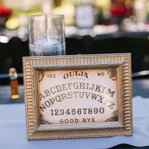 Artwork Table Numbers