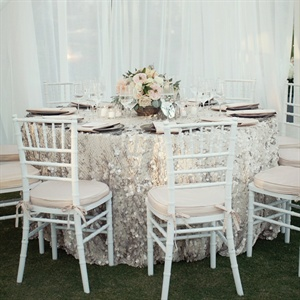 Silver Table Linens