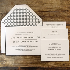 Simple Modern Invitation Suite