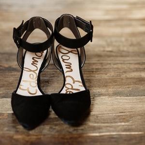Black Bridal Heels