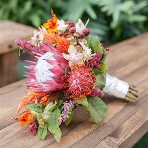 Colorful Protea Bouquet