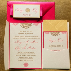 Bright Invitation Set