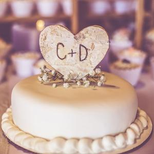 White Icing Cake