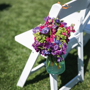 Purple Ceremony Flowers