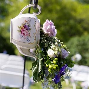 Teapot Aisle Markers