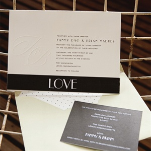 Simple Modern Invitations