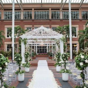 Indoor Garden Ceremony