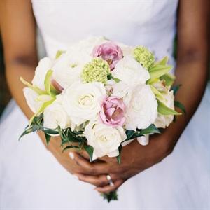 Rose and Tulip Bridal Bouquet