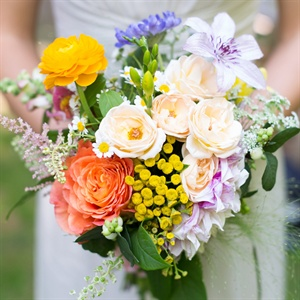 Bright Bridesmaid Bouquet