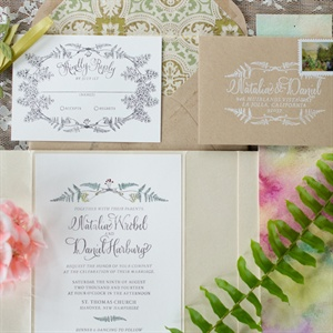 Watercolor Invitations