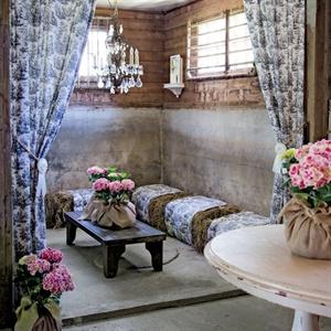 Barn Lounge Decor