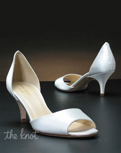Low heel shoe features multiple decorations to choose from. Exclusive to My Glass Slipper.