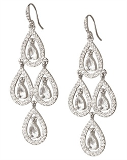 The Miranda Crystal Chandelier Earrings