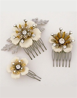 Paris by Debra Moreland Monkey Business Bridal Hair Comb Set