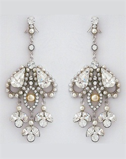 Paris by Debra Moreland Anna Karenina Vintage Chandelier Earrings
