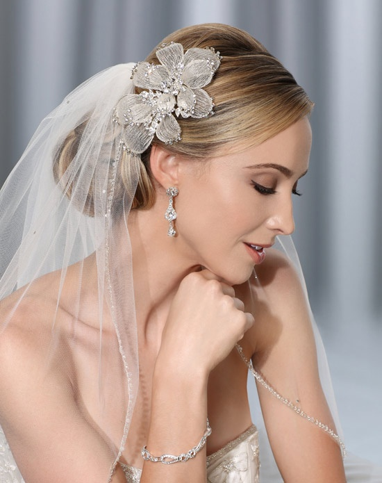 Bel aire bridal 6314 wedding veil the knot for Bel aire bridal jewelry