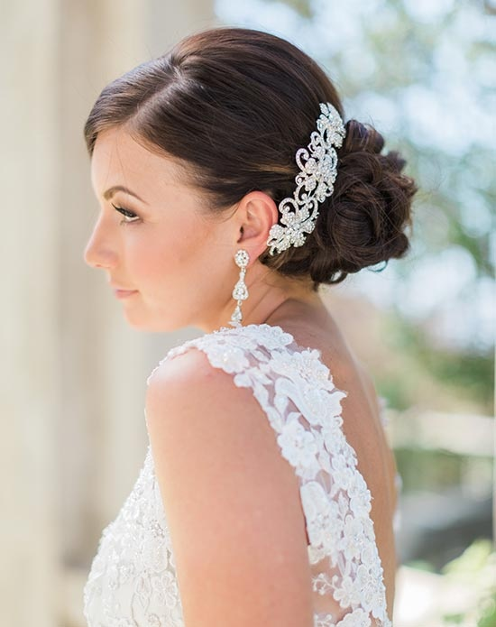 Bel aire bridal 6193 6193 headpieces for Bel aire bridal jewelry