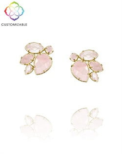 Customized Feminine Stud Earrings