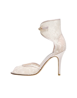 Blush Lace Open Toe Cuff