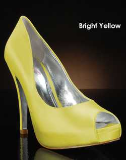Shades of Yellow shoe dye