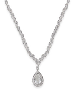The Kendra Teardrop Pendant Necklace