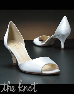 Peep toe d'orsay