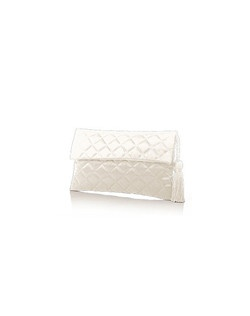 Dessy's elegant quilted envelope clutch with matching tassel detail is the perfect bag to carry your essentials. Avail in a wide variety of colors to matchryour bridal party's dresses.