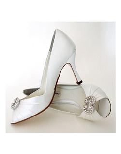 """3"""" heel, peep toe, ornament"""