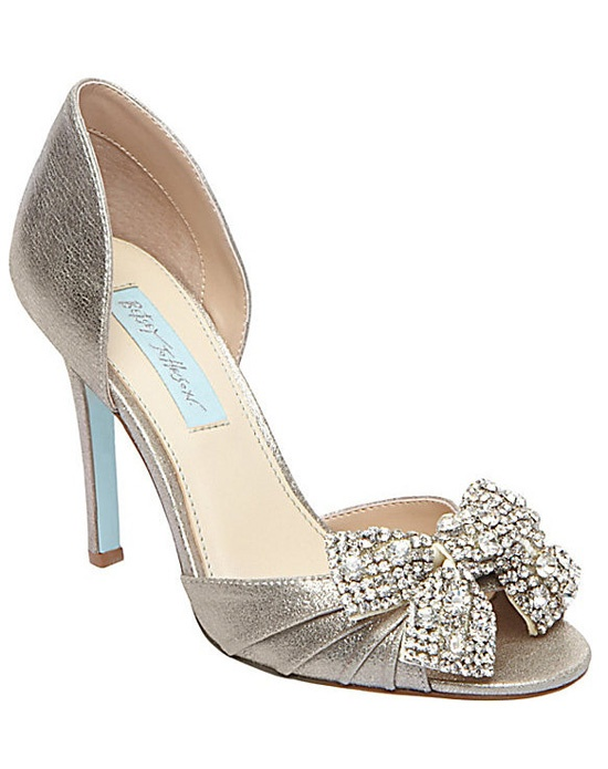 Blue by Betsey Johnson by Bellissima Bridal Shoes