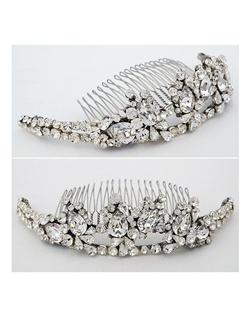tiara, backpiece