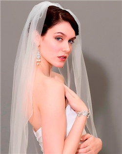 Mirage Tulle Cage Veil