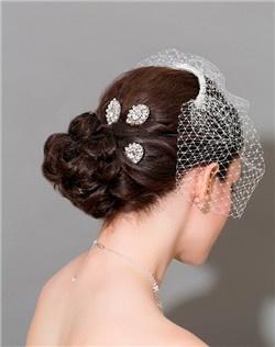 Medallion Hair Pins