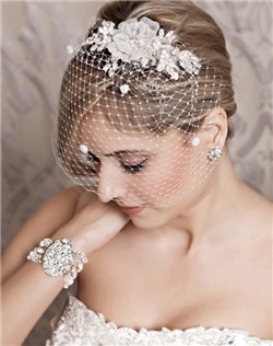 Floral Pearl Crystal Hair Comb