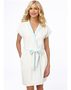 "This terry ""Bride"" robe can make any wedding that much sweeter."