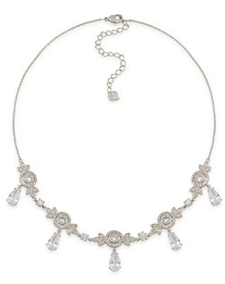 The Looking Glass Frontal Drop Collar Necklace