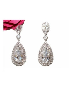 Irana - Royal Collection - Brilliant CZ Earrings
