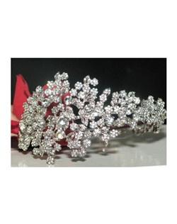 Alanza - Royal Collection Designer Swarovski crystal side headband