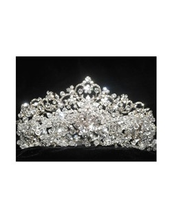 ROYAL COLLECTION - Queen Mary Swarovski Crystal Crown Tiara