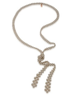Sweet Pea Lariat Necklace
