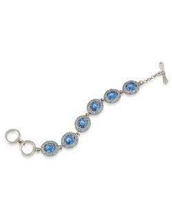 Nassau Nights Blue Linked Bracelet