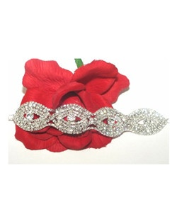 Kiera - Beautiful Sparkling wide rhinestone bracelet